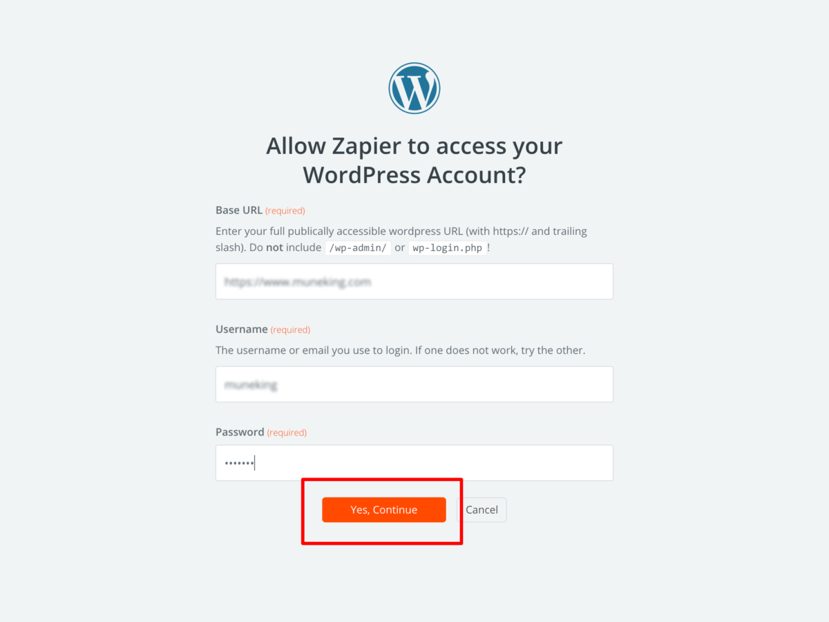 Connect an Account Zapier (1)