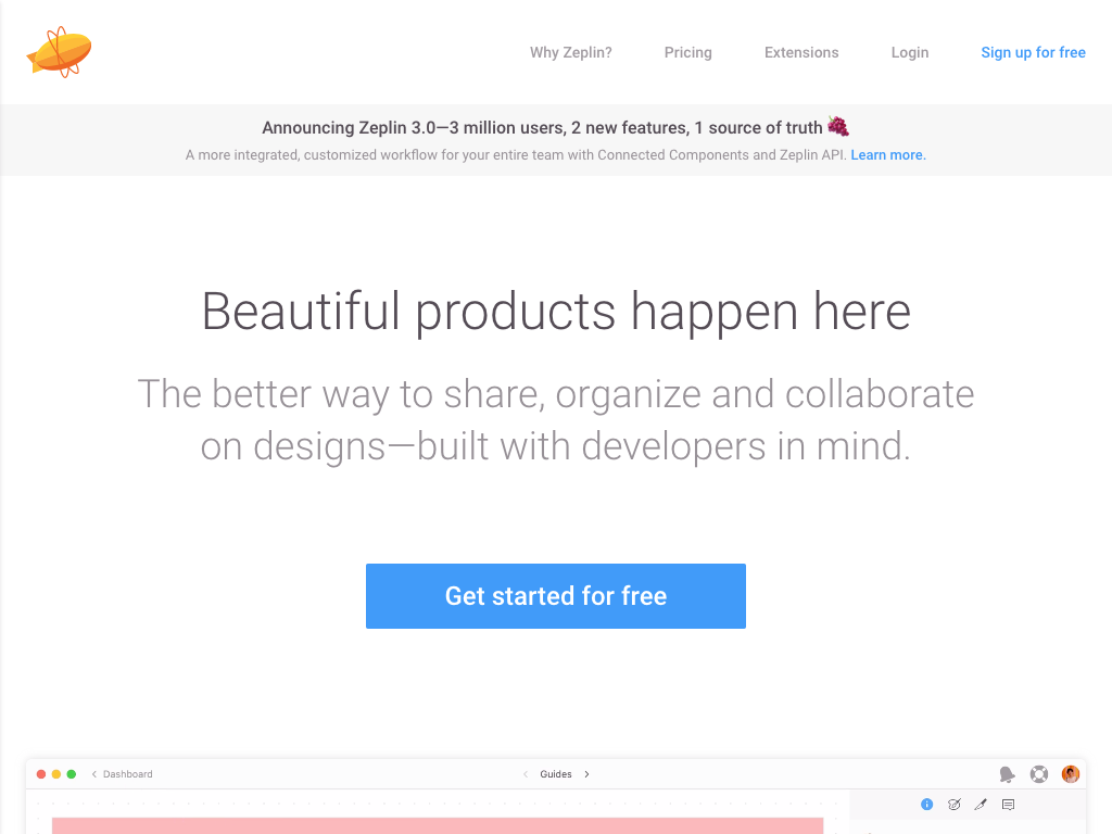 Zeplin—Collaboration and handoff for product teams